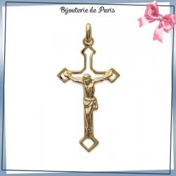 Crucifix plaqué or