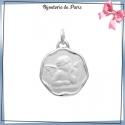 Médaille ange de Raphaël argent