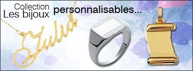 Bijoux personnalisables...